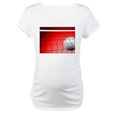 Red Volleyball Net Shirt