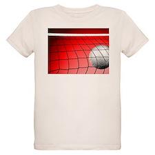Red Volleyball Net T-Shirt