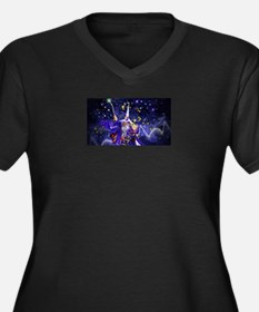 Merlin the Web Wizard Plus Size T-Shirt