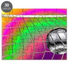 Rainbow Volleyball Net Puzzle