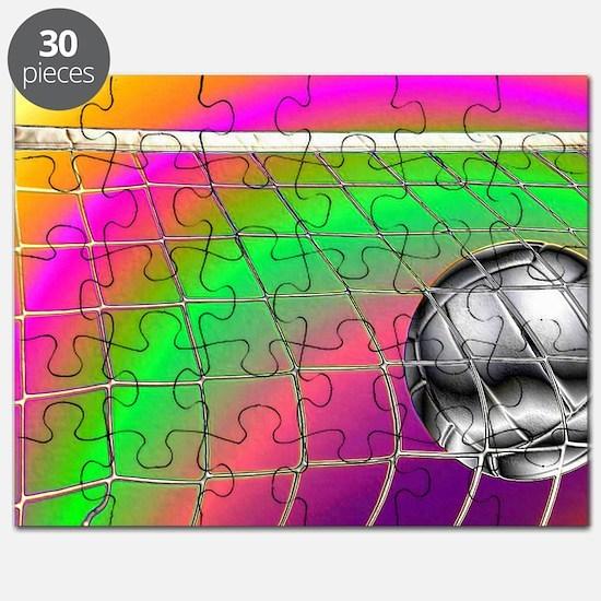 Rainbow Volleyball Net Puzzle