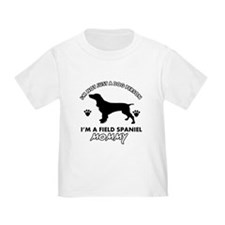 Field Spaniel dog breed designs T