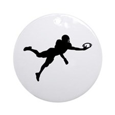 Football player Ornament (Round)