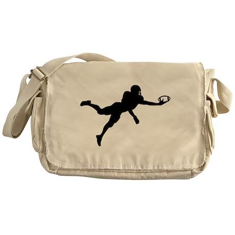 Football player Messenger Bag