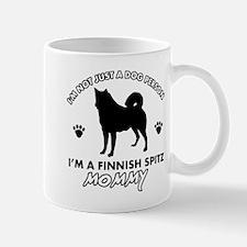 Finnish Spitz dog breed designs Mug