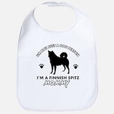 Finnish Spitz dog breed designs Bib