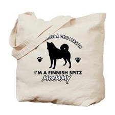 Finnish Spitz dog breed designs Tote Bag