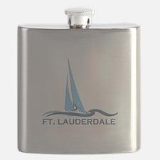 Fort Lauderdale - Sailing Design Flask