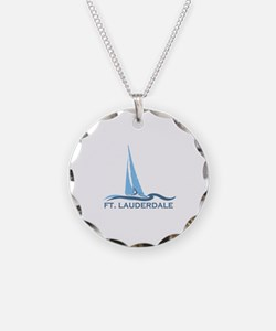 Fort Lauderdale - Sailing Design Necklace