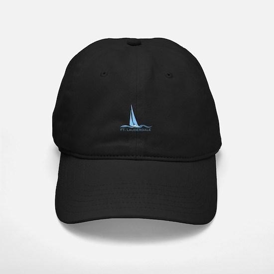 Fort Lauderdale - Sailing Design Baseball Hat