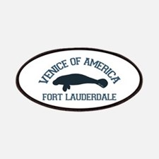 Fort Lauderdale - Manatee Design. Patches