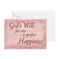 ACIM Blank Greeting Card: God's Will for me