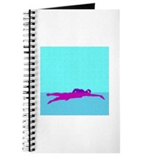 PAINTED PURPLE SWIMMER Journal