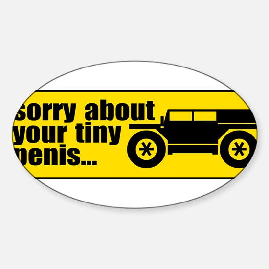 Giant SUV Rectangle Decal