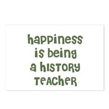 Happiness is being a HISTORY  Postcards (Package o