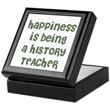 Happiness is being a HISTORY Keepsake Box
