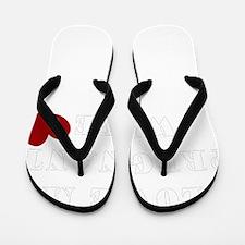 pregnant wife love.png Flip Flops