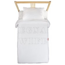 pregnant wife love.png Twin Duvet