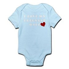 pregnant wife love.png Body Suit