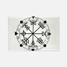 Pagan Wheel of the Year T-Shirt Rectangle Magnet