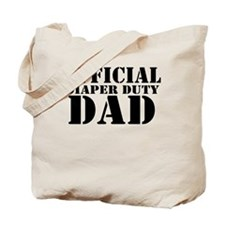 official diaper duty dad.png Tote Bag
