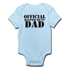 official diaper duty dad.png Body Suit