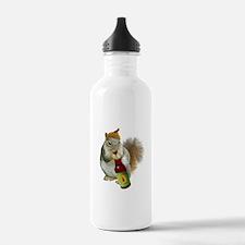 Squirrel Acorn Beer Water Bottle