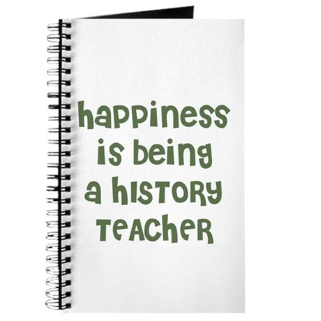 Happiness is being a HISTORY Journal