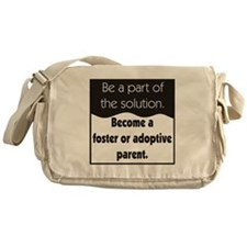Foster Care and Adoption Messenger Bag