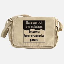 Foster Care and Adoption Messenger Bag