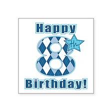 Happy 8th Birthday! Sticker