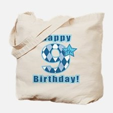 Happy 9th Birthday! Tote Bag