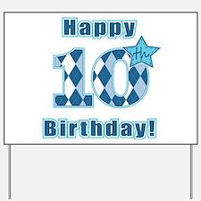 Happy 10th Birthday! Yard Sign
