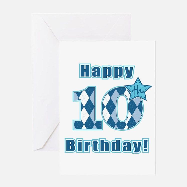 Happy 10th Birthday! Greeting Card