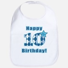 Happy 10th Birthday! Bib