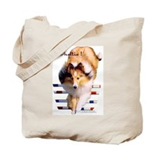 """Sheltie!"" Tote Bag"