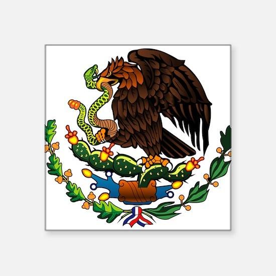 Mexico Eagle Oval Sticker