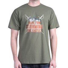 Princess Bride Storming the Castle T-Shirt