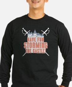 Princess Bride Storming the Castle Long Sleeve Tee
