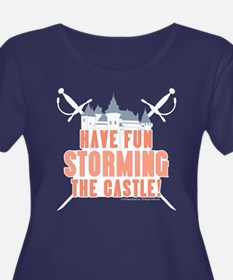 Princess Bride Storming the Castle Plus Size Tee