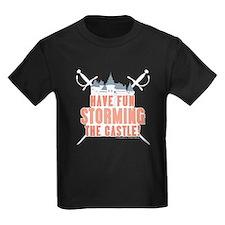 Princess Bride Storming the Castle Kids T-Shirt