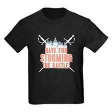 Princess Bride Storming the Castle Kids T-Shirt