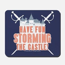Princess Bride Storming the Castle Mousepad