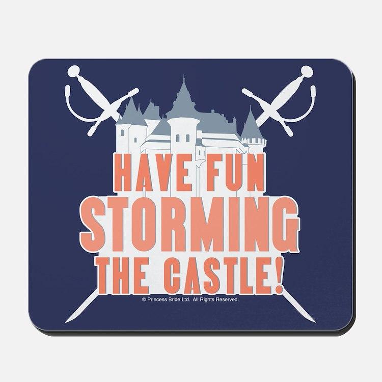 Princess Bride Storming the Castle Mousepad
