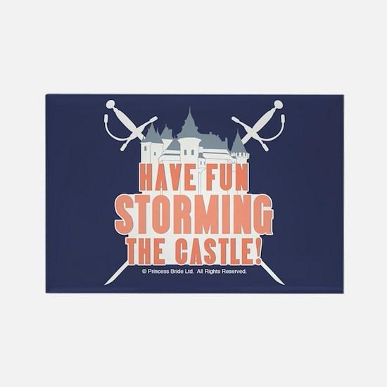 Princess Bride Storming the Castle Magnet