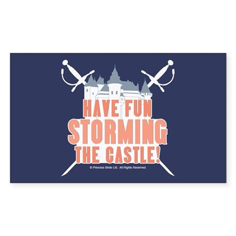 Princess Bride Storming the Castle Sticker