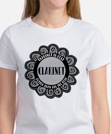 Clarinet Is Best T-Shirt