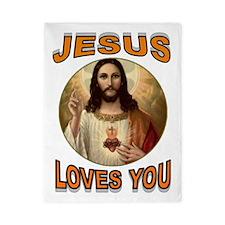 Jesus Loves You Twin Duvet