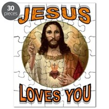 JESUS LOVES YOU Puzzle