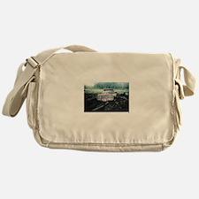 Camo Duck dynasty sports Messenger Bag